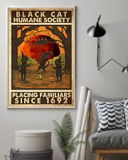 Black Cat Humane Society Placing Familiars 11x17 Poster lifestyle-poster-1