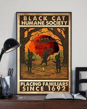 Black Cat Humane Society Placing Familiars 11x17 Poster lifestyle-poster-2