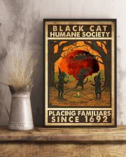 Black Cat Humane Society Placing Familiars 11x17 Poster lifestyle-poster-3