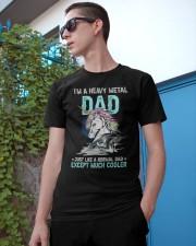 I'm A Heavy Metal Dad Classic T-Shirt apparel-classic-tshirt-lifestyle-17