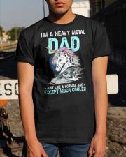 I'm A Heavy Metal Dad Classic T-Shirt apparel-classic-tshirt-lifestyle-29