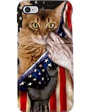 Love Somali Cat United State Flag Phone Case i-phone-8-case