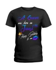6th June Birthday Ladies T-Shirt front