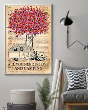 All You Need Is Love And Camping 11x17 Poster lifestyle-poster-1