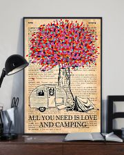All You Need Is Love And Camping 11x17 Poster lifestyle-poster-2
