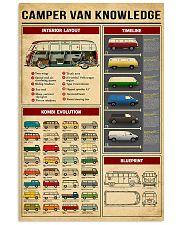 Volkswagen Type 2 Knowledge 11x17 Poster front