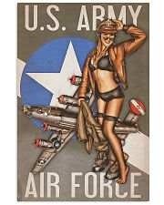 US Army Air Force 11x17 Poster front