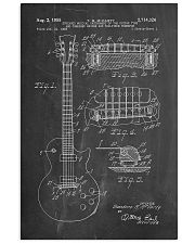 Gibson Les Paul Guitar Patent 11x17 Poster front