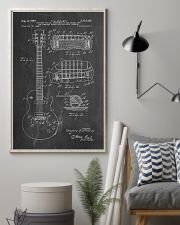 Gibson Les Paul Guitar Patent 11x17 Poster lifestyle-poster-1