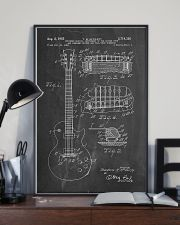 Gibson Les Paul Guitar Patent 11x17 Poster lifestyle-poster-2