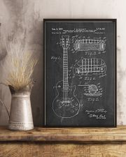 Gibson Les Paul Guitar Patent 11x17 Poster lifestyle-poster-3