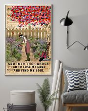 And Into The Garden I Go 11x17 Poster lifestyle-poster-1