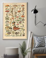 Mushroom Science Illustration 1909 11x17 Poster lifestyle-poster-1