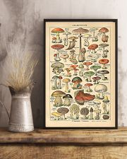 Mushroom Science Illustration 1909 11x17 Poster lifestyle-poster-3