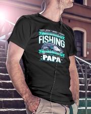 Dad Man Myth Legend Funny Classic T-Shirt lifestyle-mens-crewneck-front-5