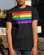 Proud To Be Gay Classic T-Shirt apparel-classic-tshirt-lifestyle-29