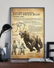 Prehistoric Animals - Bear 11x17 Poster lifestyle-poster-2