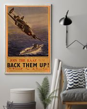 Royal Air Force Back Them Up 11x17 Poster lifestyle-poster-1