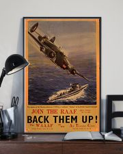 Royal Air Force Back Them Up 11x17 Poster lifestyle-poster-2