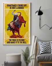 Rodeo Bull Riding 11x17 Poster lifestyle-poster-1
