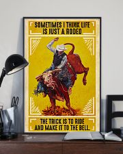 Rodeo Bull Riding 11x17 Poster lifestyle-poster-2