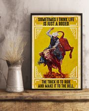 Rodeo Bull Riding 11x17 Poster lifestyle-poster-3