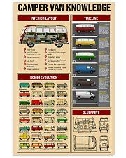Campervan Type 2 11x17 Poster front