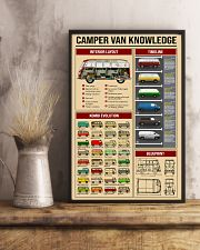 Campervan Type 2 11x17 Poster lifestyle-poster-3