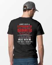 Freaking Awesome Daughter Classic T-Shirt lifestyle-mens-crewneck-back-6