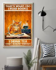 Cat That's What I Do 11x17 Poster lifestyle-poster-1