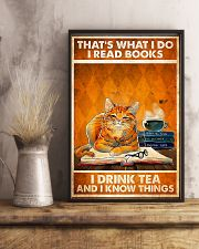 Cat That's What I Do 11x17 Poster lifestyle-poster-3