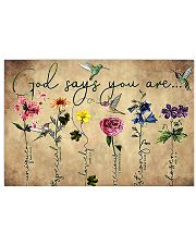 God Says You Are 24x16 Poster front