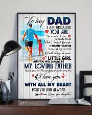 To My Dad 11x17 Poster lifestyle-poster-2
