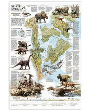Dinosaurs of North America 11x17 Poster front