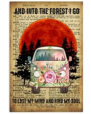Love Camping And Into The Forest I Go 11x17 Poster front