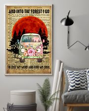 Love Camping And Into The Forest I Go 11x17 Poster lifestyle-poster-1