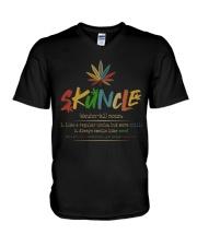 Skuncle V-Neck T-Shirt thumbnail