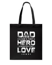 Love Dad Tote Bag thumbnail
