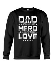 Love Dad Crewneck Sweatshirt thumbnail