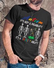 Autism It's Not A Disability Classic T-Shirt lifestyle-mens-crewneck-front-4