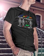 Autism It's Not A Disability Classic T-Shirt lifestyle-mens-crewneck-front-5