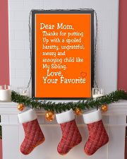 Dear Mom Poster 11x17 Poster lifestyle-holiday-poster-4