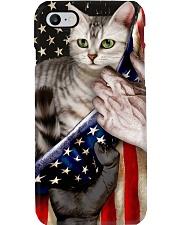 Love American Shorthair Cat United State Flag Phone Case i-phone-8-case