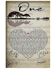One Lyric 11x17 Poster front
