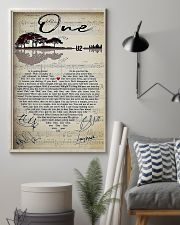 One Lyric 11x17 Poster lifestyle-poster-1