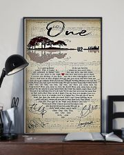 One Lyric 11x17 Poster lifestyle-poster-2