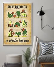 Easily Distracted By Avocado And Yoga 11x17 Poster lifestyle-poster-1
