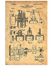 Diesel Engine Patent 11x17 Poster front