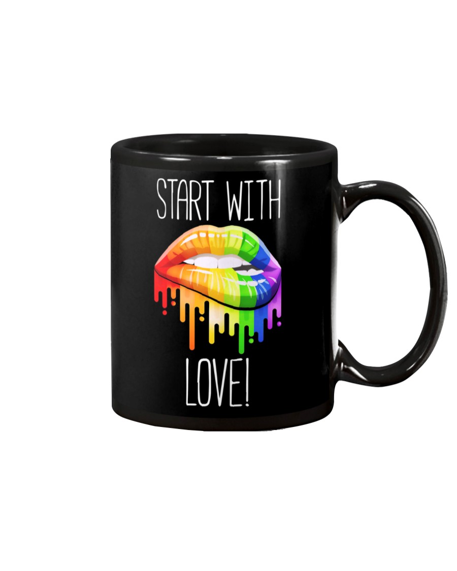 Start With Love Mug