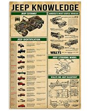 Car  Knowledge 11x17 Poster front
